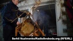 Напад на «офіс Медведчука», Київ, 21 листопада 2016 року
