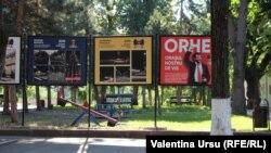 Panouri publicitare la Orhei