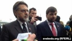 Лідэры «ДНР» і «ЛНР» у Менску