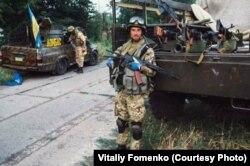 Віталій Фоменко, доброволець батальйону «Донбас», 2014 рік