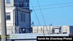 Керченская исправительная колония, 4 октября 2017 года, фото Керчь.ФМ