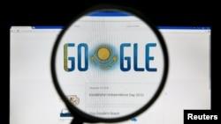 A Google page în Kazahstan pe tema Zilei Independenței