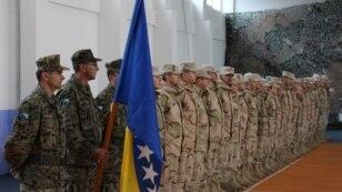 Sa ispraćaja vojnika iz BiH u misiju u Afganistan, decembar 2014.