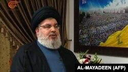 حسن نصرالله، رهبر گروه حزبالله لبنان