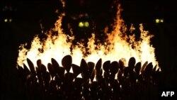Олимпискиот оган.