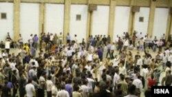 اعتراض دانشجویان در زنجان. (عکس: ایسنا)