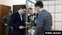 """Ростислав Малахов в суде (фото: """"Реальное время"""")"""