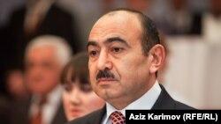 Заведующий отделом по общественно-политическим вопросам Администрации президента Азербайджана Али Гасанов, 2014