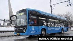 Электробус в России. Иллюстративное фото.