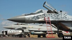 MiG-29 в Фарнборо