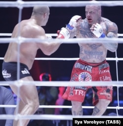 Monson lost the fight but won Russian hearts in his bout with Fyodor Emelyanenko in 2011.