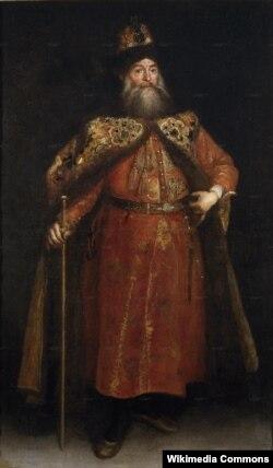 Стольник Петр Иванович Потемкин. Художник Хуан Карреньо де Миранда. 1681–1682