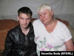 Марина Клещева с мужем