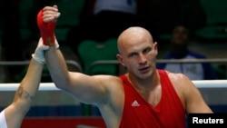 Казахстанский боксер-супертяжеловес Иван Дычко.