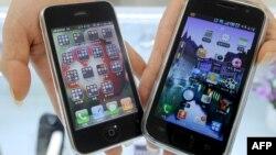 Телефони Samsung Galaxy S та iPhone 3G