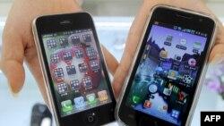 Продукция компании Samsung, вызвавшая протест Apple