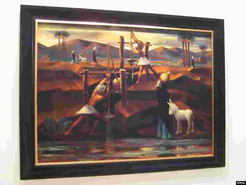 کاری از محمود سعید نقاش مصری