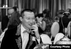 Азамат Сарсембаев, живущий в США казахстанский ученый.