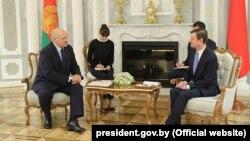 Բելառուսի նախագահ Ալեքսանդր Լուկաշենկոն ընդունում է ԱՄՆ փոխպետքարտուղար Դեյվիդ Հեյլին, Մինսկ, 17-ը սեպտեմբերի, 2019թ․