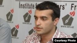 Azerbaijan - Rasul Jafarov, program coordinator of Institute for Reporters' Freedom and Safety