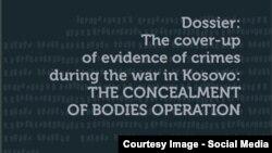 """Dosja: """"Fshehja e dëshmive të krimeve gjatë luftës në Kosovë – OPERACIONI I FSHEHJES SË TRUPAVE"""" - Fondi për të Drejtën Humanitare"""