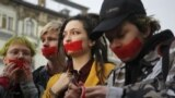 Акция против гомофобии. Санкт-Петербург 17.04.2019