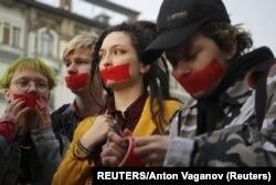 Акция ЛГБТ-сообщества в Санкт-Петербурге