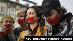 ЛГБТ-акция в Санкт-Петербурге