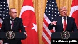 Recep Tayyip Erdogan və Donald Trump, Vashington, 13 noyabr 2019