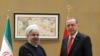 گفت وگوی روحانی و اردوغان درباره وضعیت مسلمانان در میانمار