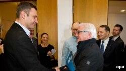 Troica europeană la întîlnirea de astăzi cu liderii opoziției ucrainiene