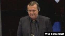 Torbjorn Overgard svjedoči na suđenju Mladiću, 26. veljače 2013.
