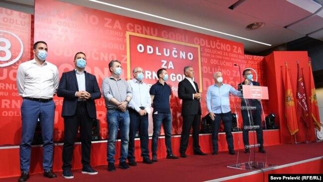 Millo Gjukanoviq pas shpalljes së rezultateve preliminare