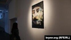 Портрет Исмаила Гаспринского, современое искусство. Иллюстрационное фото