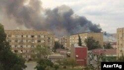 Взрыв в Ширване