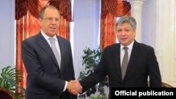Сергей Лавров и Эрлан Абдылдаев