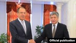 Сергей Лавров и Эрлан Абдылдаев.