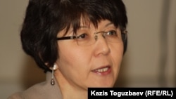 Экономист Меруерт Махмутова. Алматы, 13 декабря 2012 года.