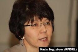 Экономист Меруерт Махмұтова. Алматы, 13 желтоқсан 2012 жыл.
