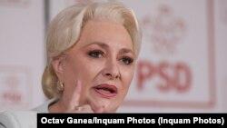 Viorica Dăncilă, fostul premier și președinte al Partidului Social Democrat