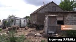Двор пенсионерки Анны Буяновой