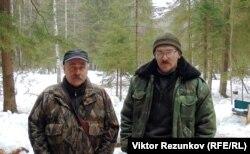 Охотоведы, эксперты-кинологи Юрий Дымов и Михаил Цыпляев