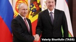 V.Putin və İ.Əliyev