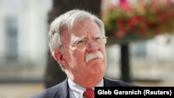 ABŞ-nyň milli howpsuzlyk boýunça maslahatçysy Jon Bolton (John Bolton)