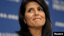 Новий посол США в ООН Ніккі Гейлі