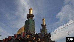 مرقد الإمام الحسين بن علي في كربلاء