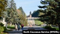 Парк в Пятигорске (архивное фото)