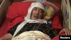 Абдельбасет аль-Меграхи незадолго до смерти.