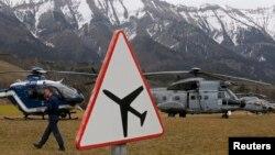 Поисковая операция во французских Альпах. 24 марта