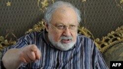 Кинодраматург Рустам Ибрагимбеков. Тбилиси, 31 шілде 2013 жыл.